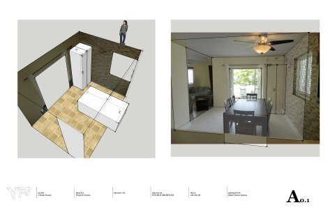 www.yourperfectspace.ca Sketchup interior modelling