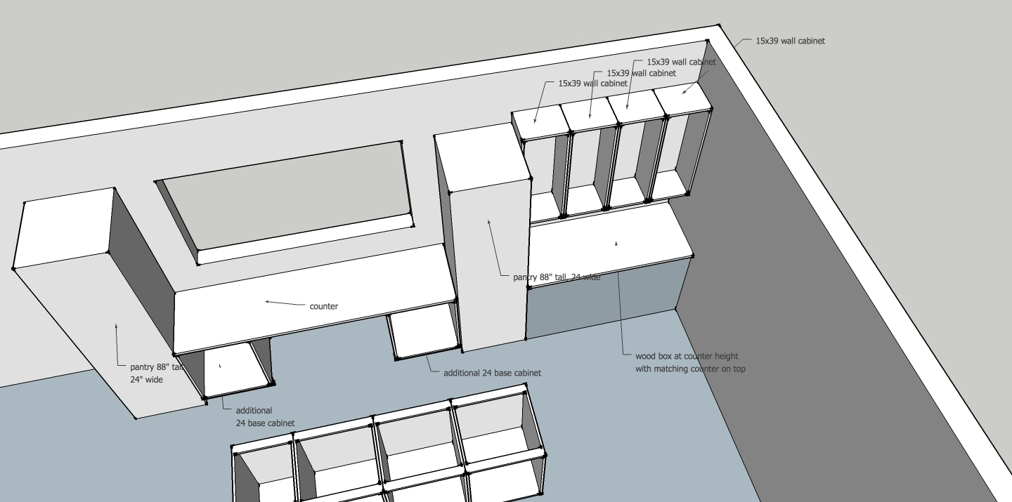 Sketchup layout free templates joy studio design gallery best design for Free kitchen design layout templates