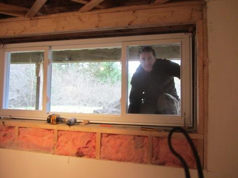 Basement window. www.yourperfectspace.ca